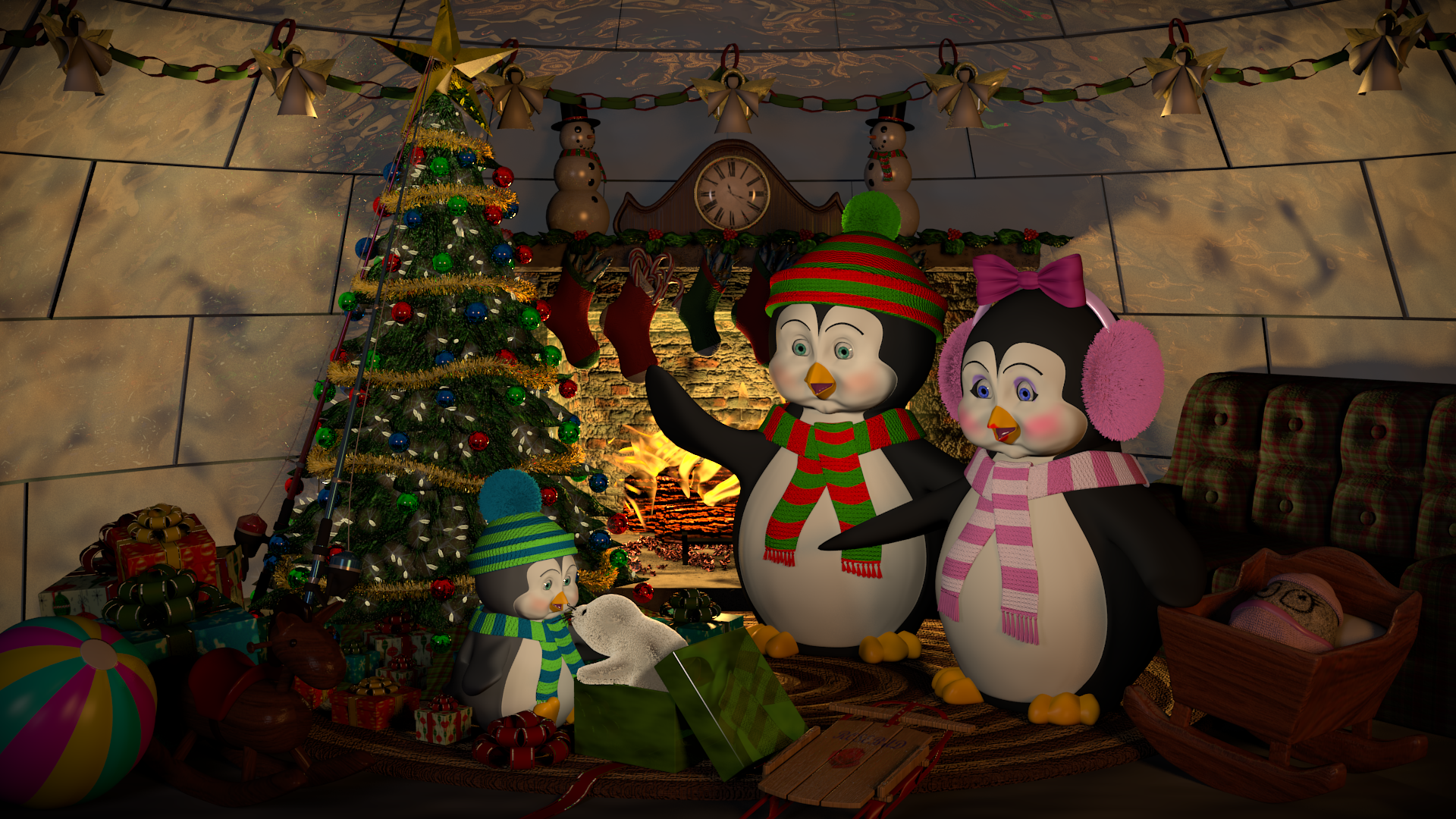 BlenderGuru Christmas entry